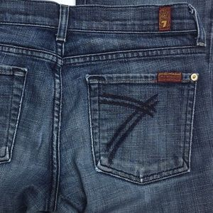 "7 For All Mankind DOJO"" Jeans Size 27"